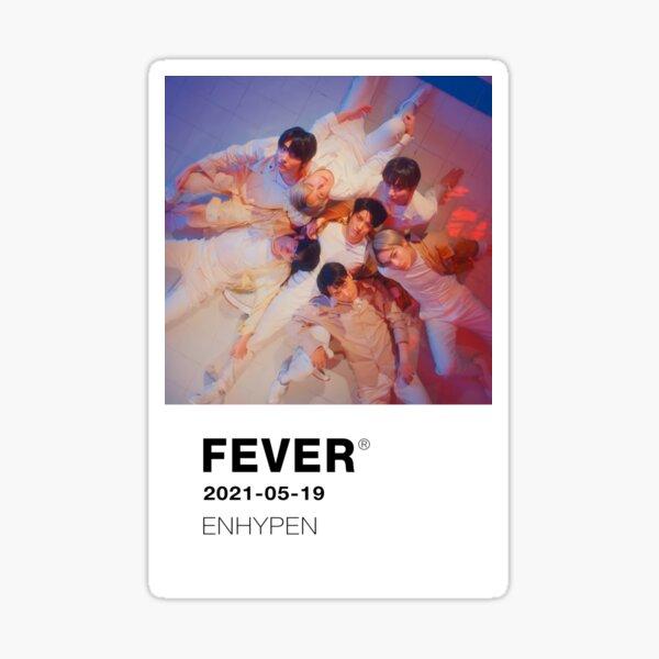 FEVER PANTONE Card ENHYPEN Pegatina