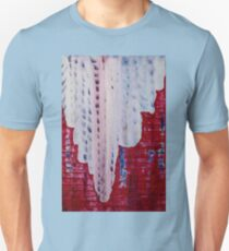 Snowy Canyon original painting Unisex T-Shirt