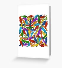 No Dearth Of... Greeting Card