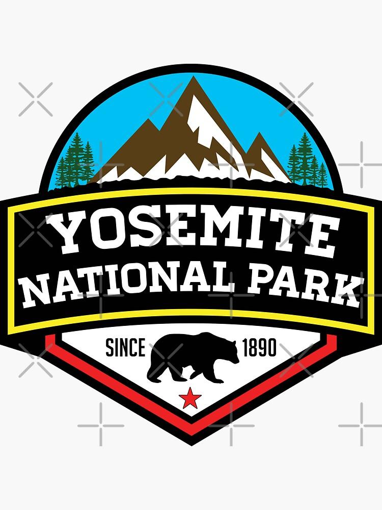 YOSEMITE NATIONAL PARK CALIFORNIA BEAR MOUNTAIN HIKING CAMPING CLIMBING by MyHandmadeSigns