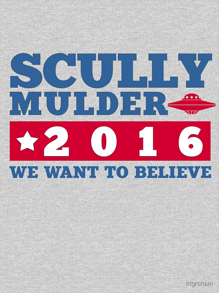 Scully & Mulder Campaign 2016 | Unisex T-Shirt