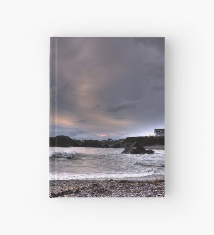 Oregon beaches Hardcover Journal