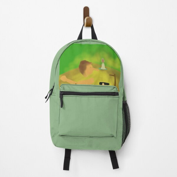 Wooden doll Backpack