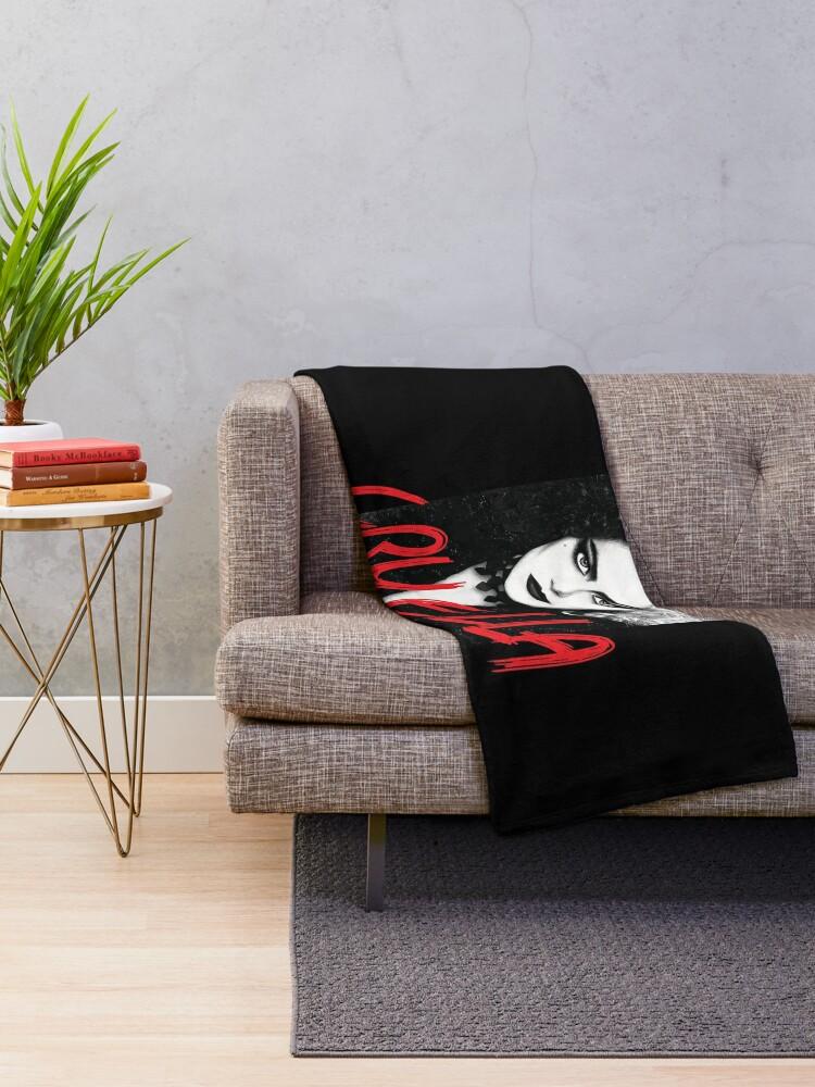 Alternate view of Cruella 2021 Throw Blanket