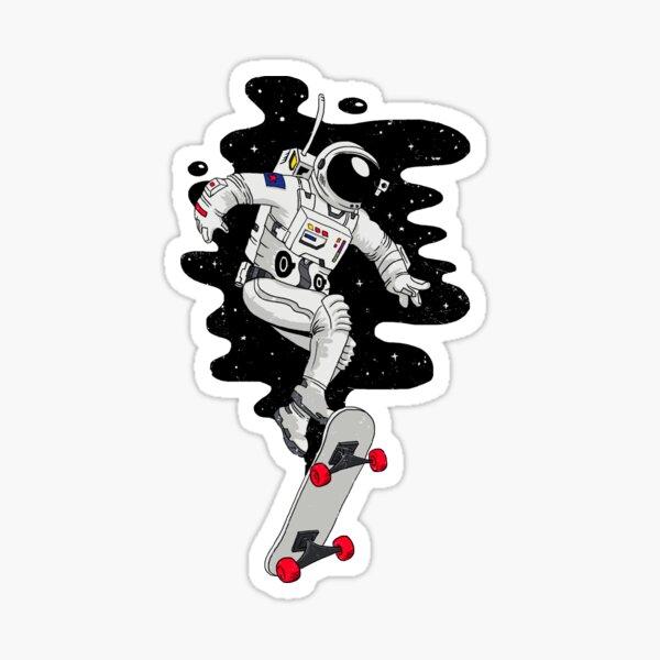 Lift Off Sticker