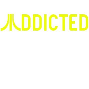 Retro-Gaming Addicted by aguakina