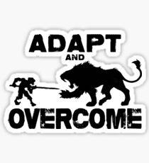 Adapt and Overcome Sticker