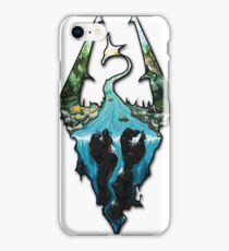 Custom Skyrim Logo iPhone Case/Skin