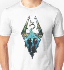 Custom Skyrim Logo Unisex T-Shirt
