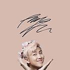 Pink Namjoon [[SIGNATURE]] by jaydenlyn