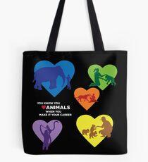 Land Animal Career II Tote Bag