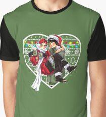 Leegaa Christmas Gay Ninjas Graphic T-Shirt