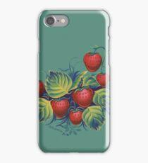 Strawberry glade iPhone Case/Skin