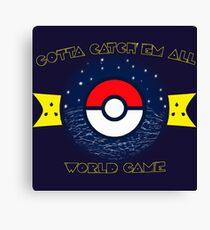 WORLD GAME Canvas Print