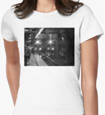 Los Angeles Metro Rail Womens Fitted T-Shirt