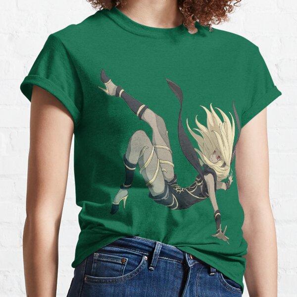 Gravity Rush - Falling Kat Classic T-Shirt