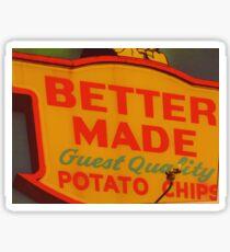 Better Made Potato Chips Sign Sticker
