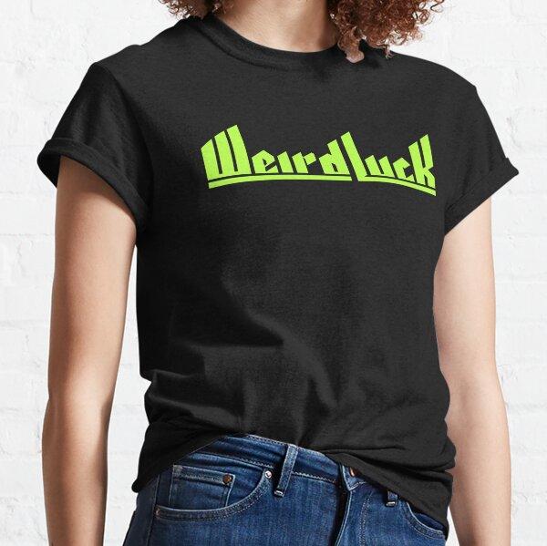 Weird Luck Logo (Neon Green) Classic T-Shirt