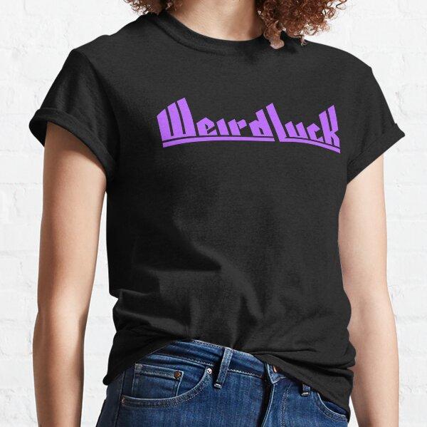Weird Luck Logo (Purple) Classic T-Shirt