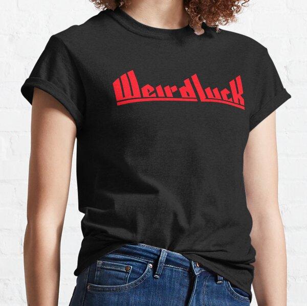 Weird Luck Logo (Red) Classic T-Shirt