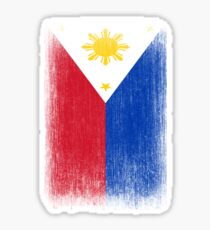 Philippines Flag Pride Sticker