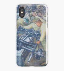 Diego Rivera Auto Plant iPhone Case/Skin