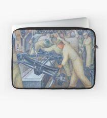 Diego Rivera Auto Plant Laptop Sleeve