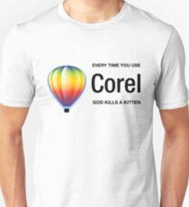 Corel light Unisex T-Shirt
