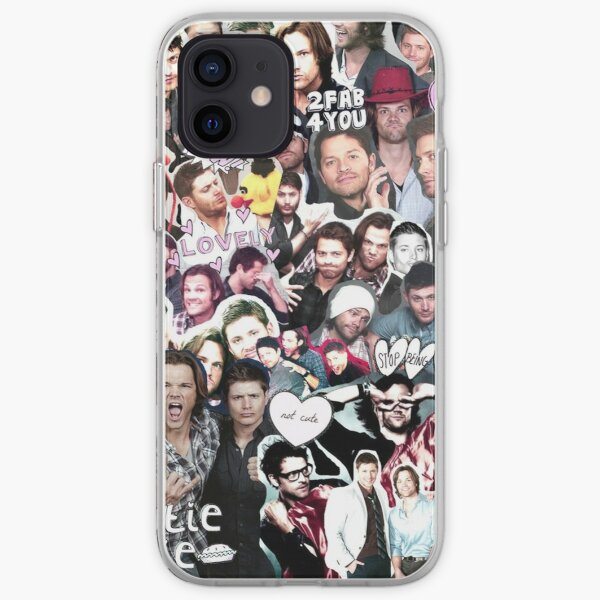 Supernatural Collage iPhone Soft Case
