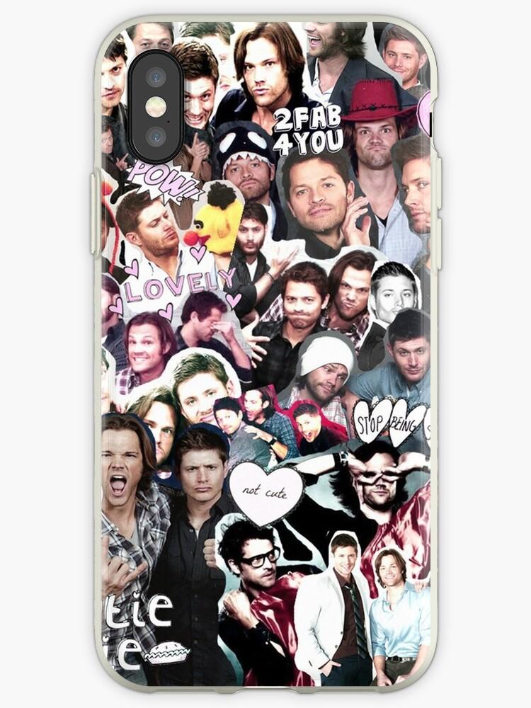 best website 4910a 6cfaa 'Supernatural Collage' iPhone Case by mobisu
