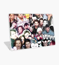 Supernatural Collage Laptop Skin