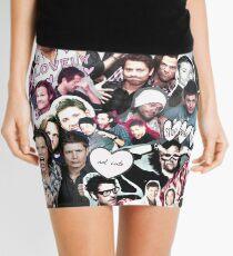 Supernatural Collage Mini Skirt