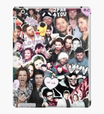 Supernatural Collage iPad Case/Skin