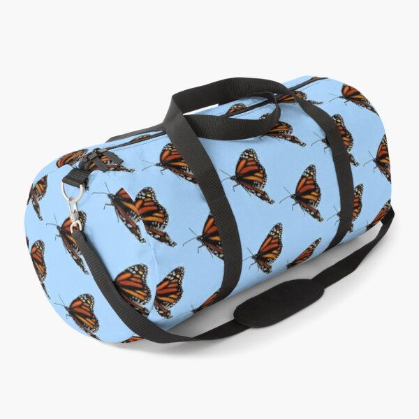 M. Butterfly (blue background) Duffle Bag