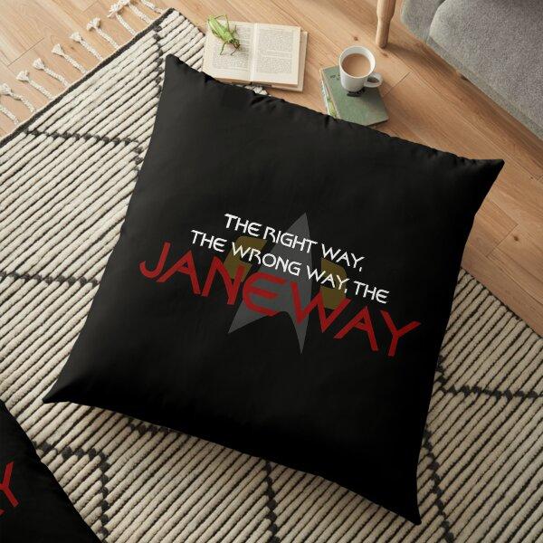 The Janeway Floor Pillow