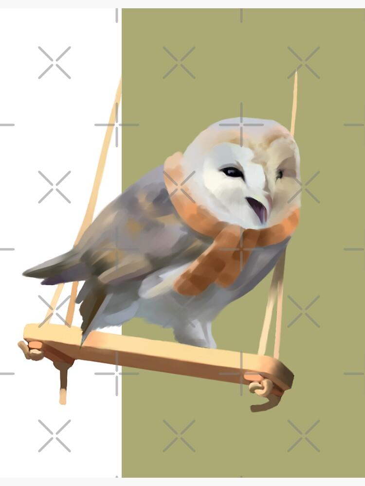 Barn owl  by Elenanaylor