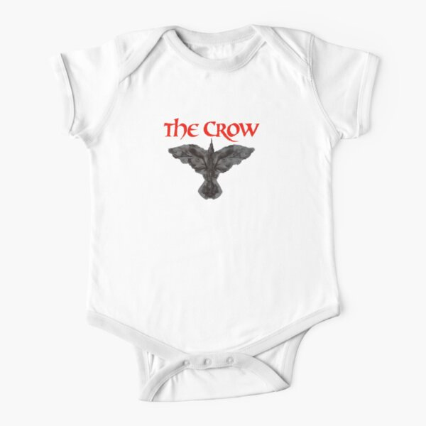 The Crow  Short Sleeve Baby One-Piece