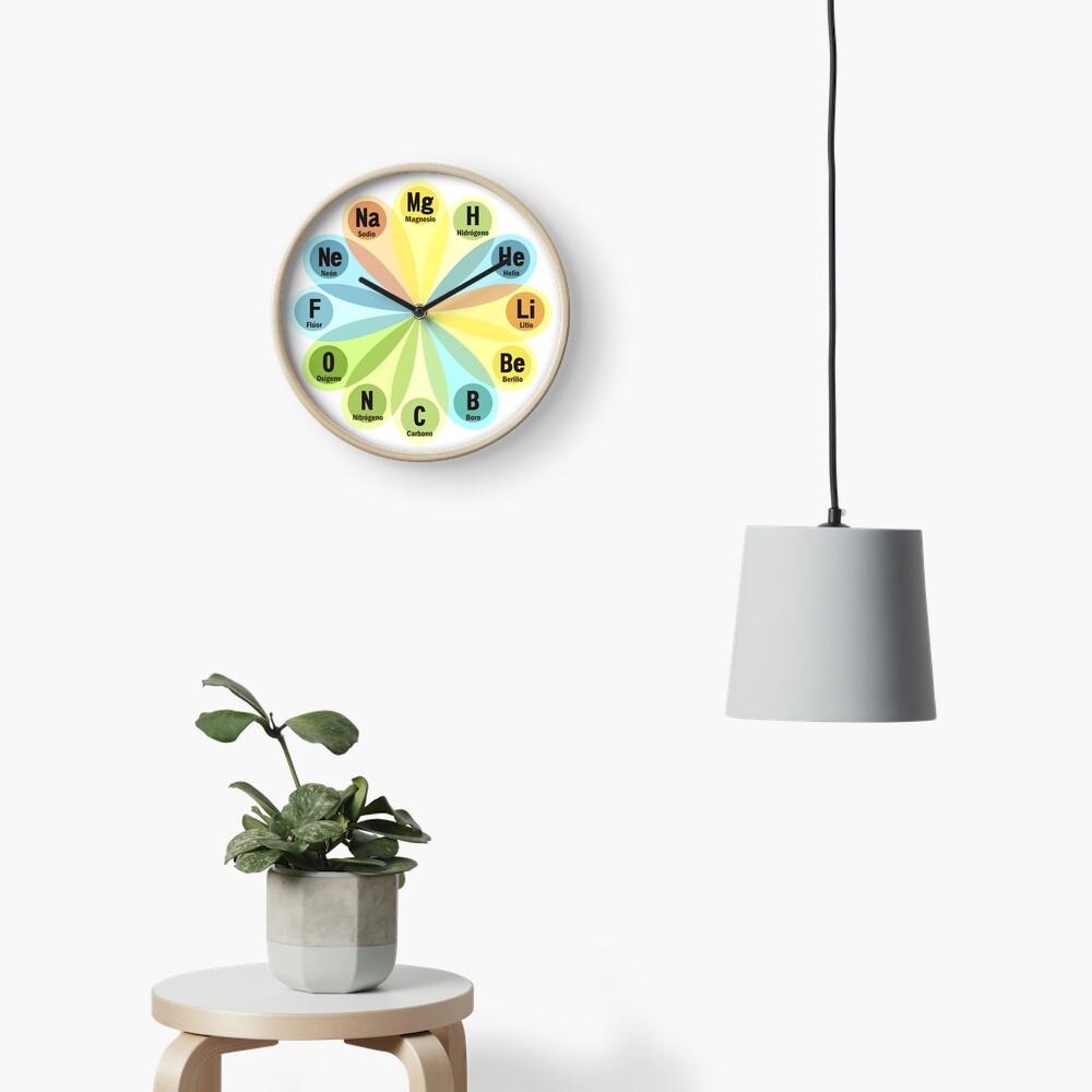 Elementos químicos Reloj