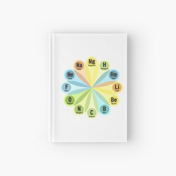 Chemical elements Hardcover Journal