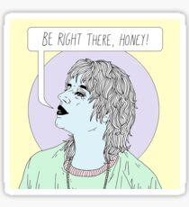 Threat Of Joy Sticker