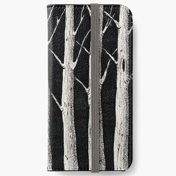 Dark woods iPhone Wallet