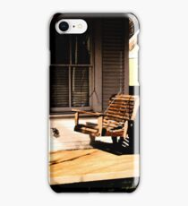 Porch Swing iPhone Case/Skin