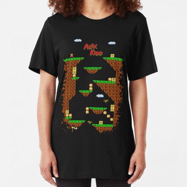 Alex Kidd in Miracle World Slim Fit T-Shirt
