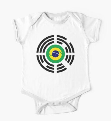 Korean Brazillian Multinational Patriot Flag Series Kids Clothes