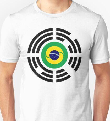 Korean Brazillian Multinational Patriot Flag Series T-Shirt