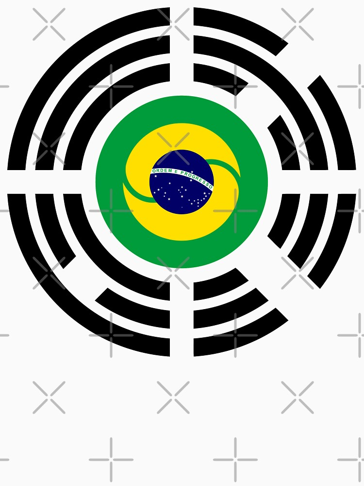 Korean Brazillian Multinational Patriot Flag Series by carbonfibreme