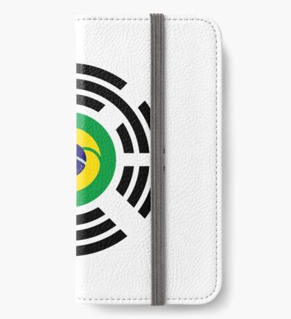 Korean Brazillian Multinational Patriot Flag Series iPhone Wallet