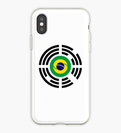 Korean Brazillian Multinational Patriot Flag Series iPhone Case