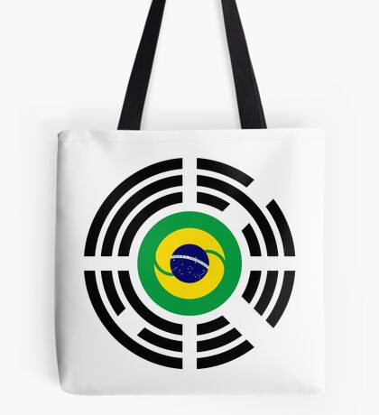 Korean Brazillian Multinational Patriot Flag Series Tote Bag