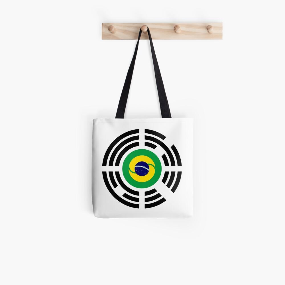 Korean Brazillian Multinational Patriot Flag Series Tote Bag